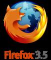 Firefox 5.3 лого
