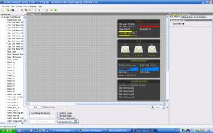 Вікно редактора конфігурації. Нагадує якусь IDE.