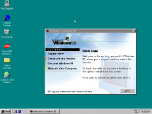 Windows 98SE PE